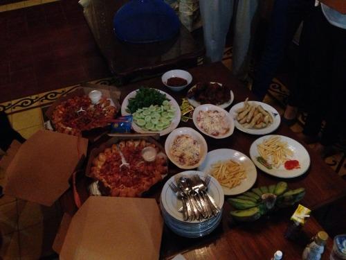 big feast!